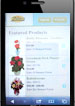 Order flowers on the go!