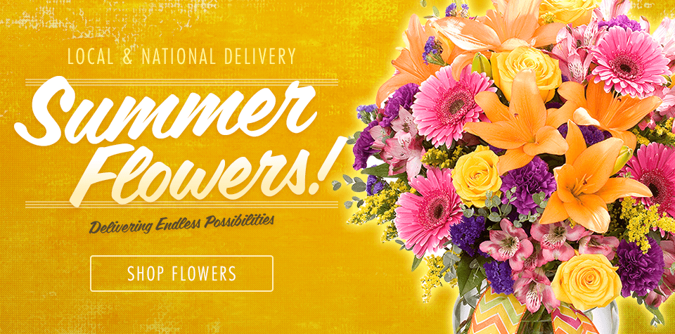 Zeidler's delivers endless possibilities with beautiful Summer flowers is many styles.
